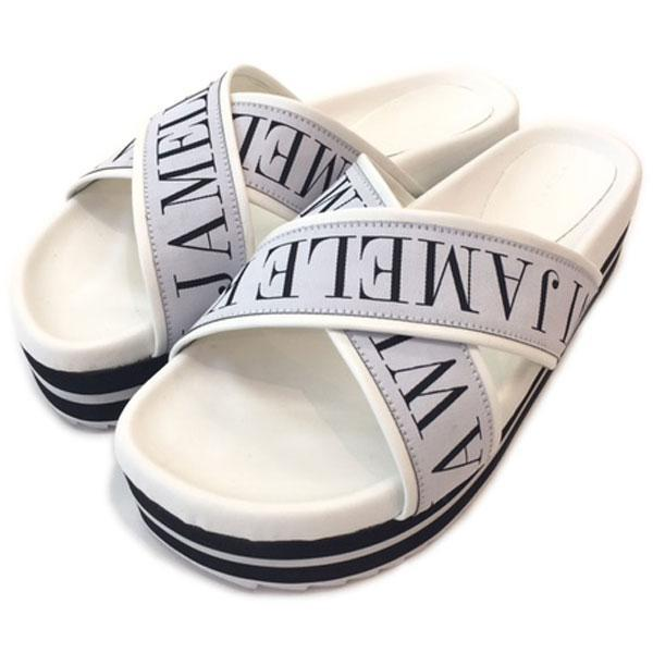 Cross logo sandals