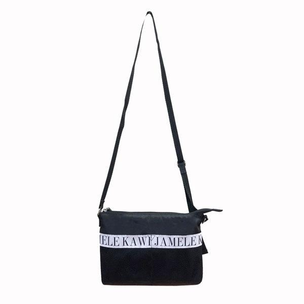Logo nylon bag