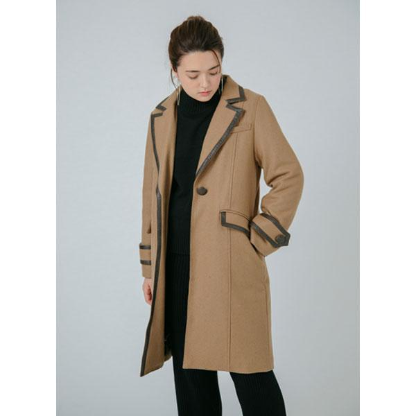 piping chester coat