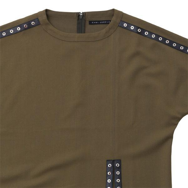 studs line long pullover