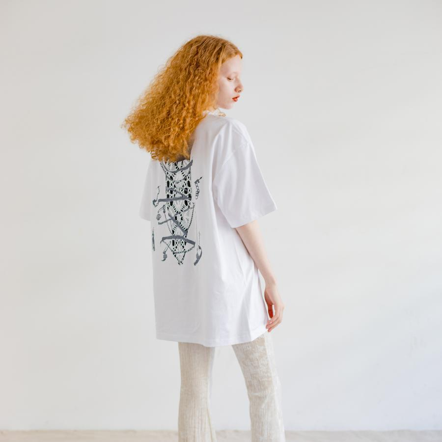 SILAS collaboration back Tee