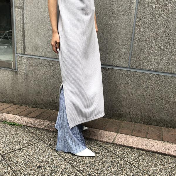 open shoulder long dress