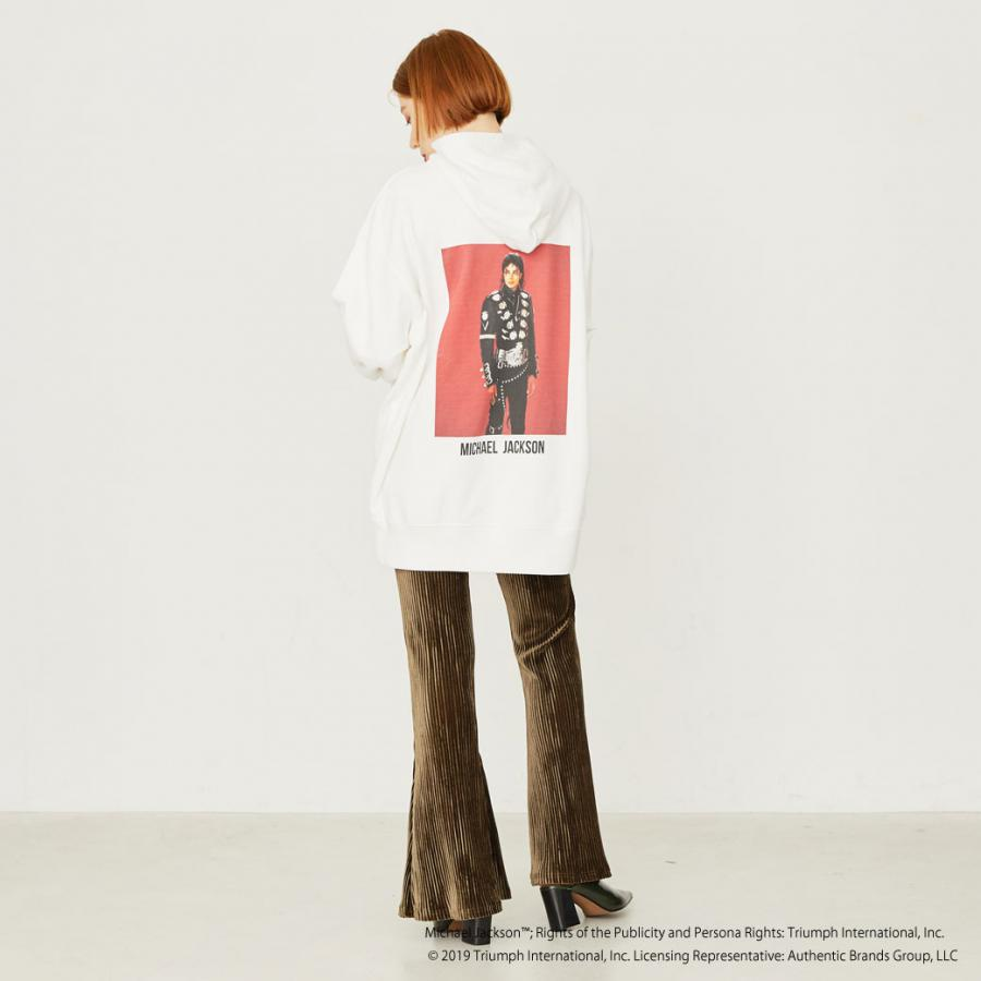 MJ back photo hoodie