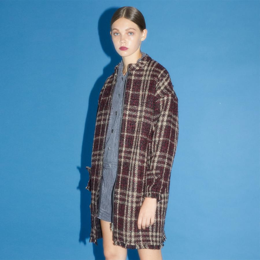 Tweed 2way coat