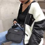 CORDURA LOGO SHOULDER BAG
