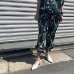 botanical frill pants