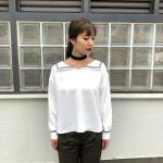sailor collar blouse